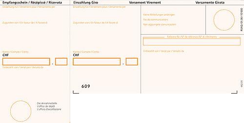 Intégrez des bulletins de versement dans tout type de document